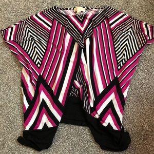 Colorful shirt sleeve shirt - brand new